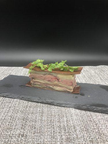 グランメゾン東京第二話の『ナスと白肝のプレッセ』を家で作ってみた家庭版作り方画像付