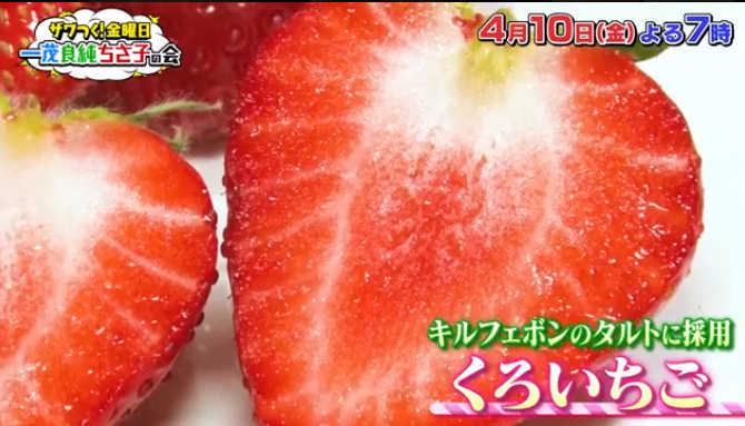 ざわつく金曜日の高嶋ちさ子いきつけ浦部農園くろいちご『真紅の美鈴』の通販は?