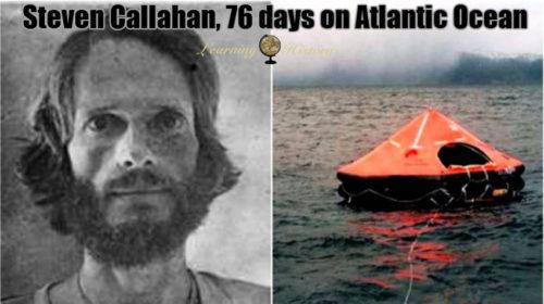 スティーブ・キャラハンの経歴や76日間漂流サバイバル術とは?