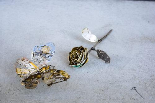 腕時計廃材アート『いとお時計店』の時計廃材アート作品の通販や購入・販売は?【所さんのそこんトコロ】