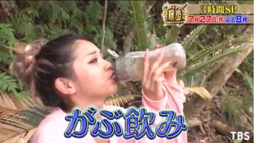 OKOは泥水や菌やウィルス、重金属を濾過して飲める?濾過能力は?アイアム冒険少年でゆきぽよの泥水がぶ飲みを検証!